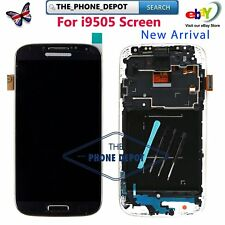 For Samsung Galaxy S4 i9505 i9508 LCD Display Touch Screen Digitizer Frame Black