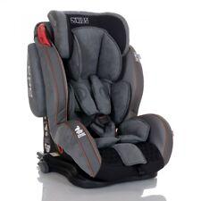 LCP Kids Auto Kindersitz GT Isofix 9-36 kg GRAU Gruppe 1 2 3 Schlafposition