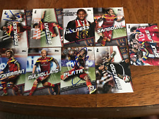 Real Salt Lake 2016 Topps Mls Partially Signed Team Set cards Current Roster