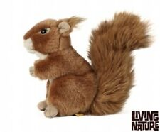 Living Nature Britsh Wildlife Red Squirrel Soft Toy AN49