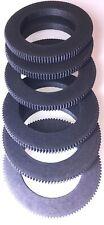 15mm thick/8mm width Seamless Follow Focus lens gear ring diameter 10 to 110 mm