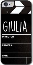 Cover per iPhone 6 / 6S Ciak Cinema personalizzabile con il tuo nome!