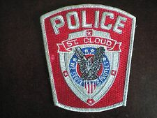 Police St. Cloud Florida Iron On or Sew On Patch *NEW*