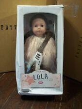 "Pottery Barn Kids Special Edition Lola Rockstar Gotz Doll Musical 18"" #2382"