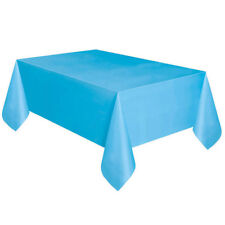 Large Plastic Rectangle Table Cover Cloth Wipe Clean Party Tablecloth Covers US