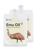 AUSTRALIAN EMU OIL 200ml | 100% PURE |  Natural moisturiser |  FREE AU SHIPPING