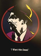"""Walt Disneyâ""""¢ Dick Tracy Advance Teaser Rodent Character Movie Poster"""