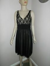Ladies tkmaxx Lace & net Overlay Occasion Spéciale Robe Taille 10 UK 38 eur