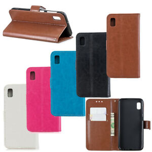 Flip Leather Soft Phone Case Card Slot Wallet Cover for Samsung Galaxy A10e