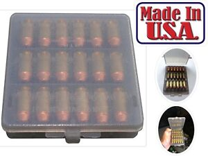 MTM 18 Rounds 38 Cal Case-Gard Ammo Wallet Case Classic Quality Clear Smoke