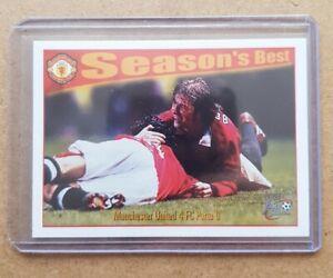 David Beckham Futera 1997 Season's Best Rookie Card Man Utd #44 (Pack Fresh)