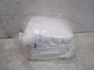 Restoration Hardware Italian Lucca Linen/Cotton Weave Duvet Cover King White