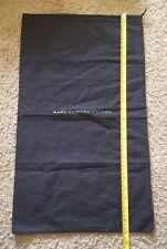 "NEW! Marc By Marc Jacobs Dust Bag Drawstring Black 23""L x 13.5""W  boots"