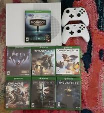 Xbox One S 500gb Console, Games & Controller Lot