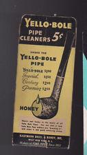 Yello-Bole Pipe Cleaners Kaufmann Bros & Bondy Inc Package