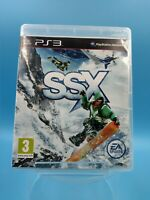 jeu video sony playstation 3 ps3 complet PAL SSX