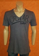 "Size M, G-Star Raw ""BLEECKER V T S/S"" V-Neck Shirt, (Asia L), Genuine"