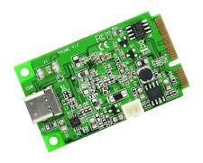 SI-MPE20214 IO Crest Mini PCI-Express 2.0 to USB 3.1 Gen 2 Card ASM1142 Chipset