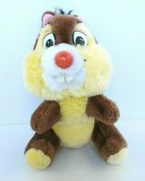 Disneyland Walt Disney World Chip n Dale Plush Chipmunk Toy Round Nose