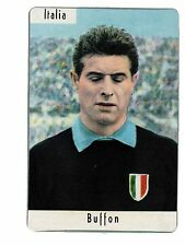 [LC8] FIGURINA CALCIATORI 1962/63 SAIM PLASTIFICATA ITALIA BUFFON