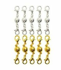 10X Magnetic Lobster Lock Clasps for Necklace Bracelet Jewelry Fashion Extender