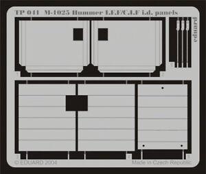 Eduard Models 1/35 M1025 Hummer IFF/CIF ID Panels for Academy kit