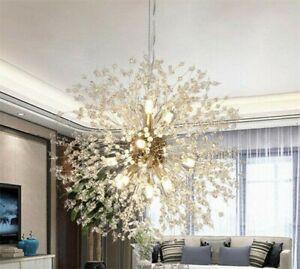8-16LED Lights Modern Creative Dandelion LED Lamp Hanging Fixture Pendant Lamp