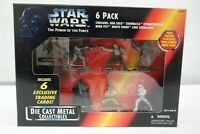 Star Wars Power of the Force 6-Pack Die Cast Metal Han Boba Darth Kenner 1995 TY