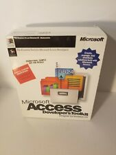 Microsoft Access Developer's Toolkit Database 1995 NEW Software