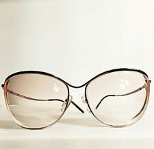 97a9265dc241 Vintage Logo Paris 1980 s Curvy Purple Gold Tint Metal Eyeglasses Frames  France