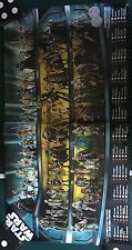 Star Wars SDCC HASBRO STAR WARS FIGURE PROMO POSTER 2007 MCQUARIE COIN CHECKLIST
