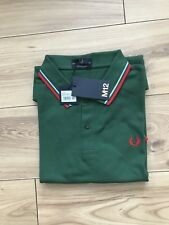 BNWT  Men's  Fred Perry M12 Polo Shirt. Size 42 Uk Large. MADE IN ENGLAND