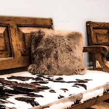 Sheep Skin Pillow cover 15x15 in