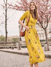 """BODEN Damen Stretch Kleid-Taschen """" Carrie Jersey Midi Dress 8P 34"""
