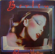 """BERLIN """"PLEASURE VICTIM"""" LP 1982 RARE ENIGMA NM VINYL!!"""