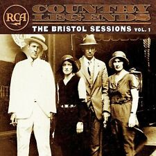 New BRISTOL SESSIONS RCA Country Legends CD SEALED Jimmie Rodgers CARTER FAMILY