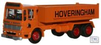 76TIP001 Oxford Diecast Hoveringham AEC Ergomatic 6 Wheel Tipper OO Gauge
