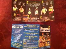 Jesse Tyler Ferguson  ad/flyer  25th Annual Putnam County Spelling Bee small