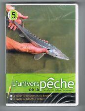 L'UNIVERS DE LA PÊCHE N° 5 - ESTURGEON / ABLETTE - DVD NEUF NEW NEU
