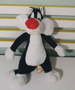 SYLVESTER LOONEY TUNES LOONEY TOONS CAT CHARACTER TOY 35CM! PUDDY TAT TOY!