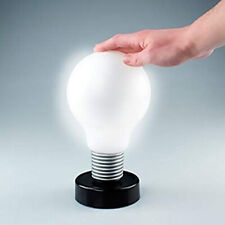 NEW LED PUSH LIGHT BULB LAMP FUN DECORATION BASE STAND 24CM GIFT XMAS ON OFF