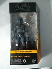 """MANDALORIAN loyalist Hasbro Star Wars Black Series 6"""" Walmart Figure MIB"""