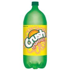 NEW Crush Grapefruit Soda 3x 2 Liter Bottles FAST FREE SHIPPING