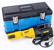 REMS Pressatrice Power Press E im valigia per trasporto anche SE senza Ganascia
