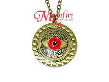 Doctor Strange Eye Of Agamotto Gold Large Pendant Necklace Amulet Mystical Power