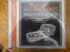 3 CD AUDIO BOOK - TRAITOR'S PURSE - Margery Allingham [2008]