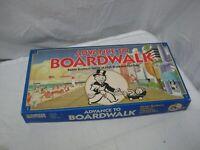 Vintage 1985 Parker Brothers ADVANCE TO BOARDWALK Board Game COMPLETE Monopoly