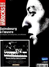 RARE LES INROCKS HORS SÉRIE N° 48 SPÉCIAL SERGE GAINSBOURG + CD INÉDIT + POSTER