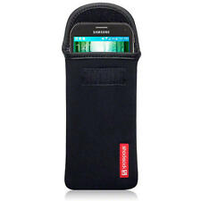 Shocksock Black Neoprene Pouch Case for Samsung Galaxy S5 Active