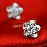 Joyería de moda 925 colgantes de plata de ley pendientes del ciruelo